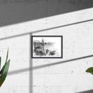 Seaberry-Studio-art-print-mccrae-lighthouse