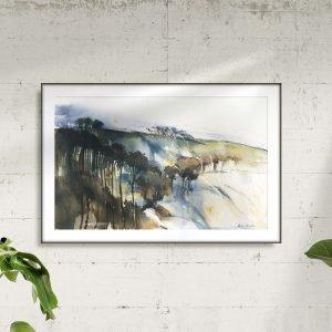 Seaberry-Studio-landscape-watercolour