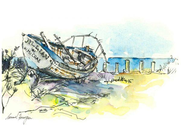 Seaberry-studio-Art-print-Jillian-washed-ashore