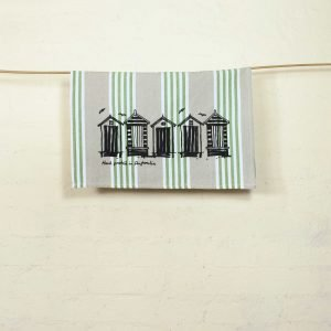 Seaberry-studio-tea-towel-beach-boxes-hang