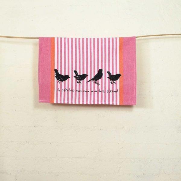 Seaberry-studio-tea-towel-little-birds-hang
